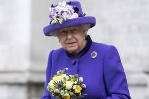 the queen will not attend new year's day church service at sandringham because of lingering heavy cold
