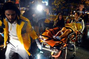 killer dressed as santa claus massacres new year revellers in istanbul nightclub