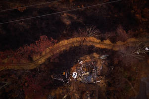 with a drone and a mattress, a photographer is helping tennessee town rebuild after fire