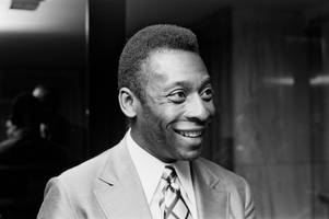 brazilian football legend pele is coming to penarth