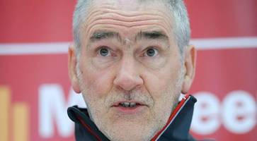 gaa could ditch anthem and flag, but only when time is right, says mickey harte