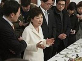 south korean president accused of corruption refuses to testify at her impeachment trial