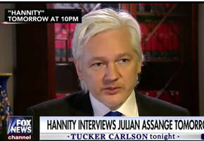 assange to hannity: our source is not the russian government