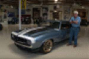 ring brothers bring their g-code camaro to jay leno's garage