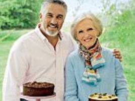 recipe for success: paul hollywood could be reunited with mary berry on the us version of bake off after she impressed bosses with her first series of the great american baking show