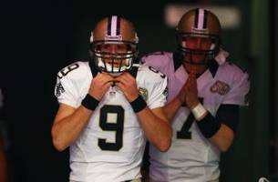 drew brees vague about returning to saints, but i expect he'll be back