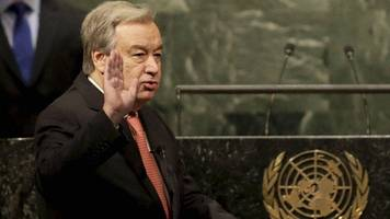 new un chief has big goals but says he's 'no miracle maker'