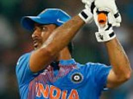 ms dhoni steps down as captain of india's limited-overs teams but is still available for selection against england