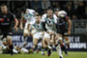 ospreys ready to give sam davies a turn at fly-half after his...