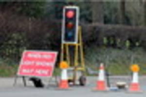 13 weeks of traffic delays in cannock, hednesford and rugeley due...