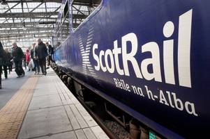 north ayrshire rail users face weeks of disruption to travel as scotrail carry out maintenance