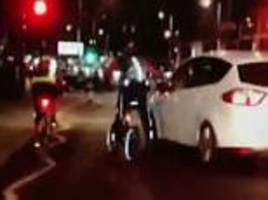 bbc presenter jeremy vine takes aim at another driver while out cycling