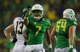 oregon football: darren carrington to return for senior season