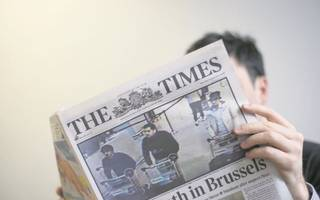 sun and times newspapers report losses as revenues are hit by ad decline