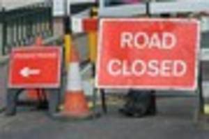 bad news: cheadle gas works will close main road for three months