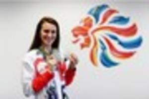 olympic star jazz carlin on mission to get more people swimming...