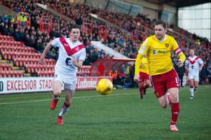 albion rovers stay unbeaten at excelsior stadium ahead of celtic scottish cup tie with monklands derby win