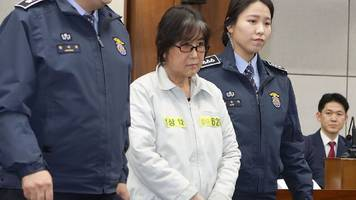 south korea scandal: choi and park cases in court