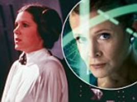disney weighing up options for princess leia in final two star wars films in wake of carrie fisher's death