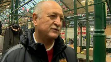 'big phil' scolari enjoys warm welcome in northern ireland