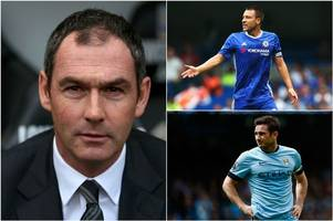 paul clement rules out john terry move to swansea city while frank lampard swoop remains unlikely