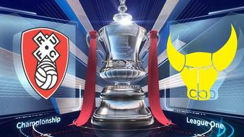 fa cup: rotherham united 2-3 oxford united highlights