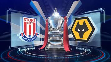 fa cup: stoke city 0-2 wolverhampton wanderers highlights