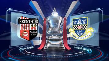 fa cup highlights: brentford 5-1 eastleigh