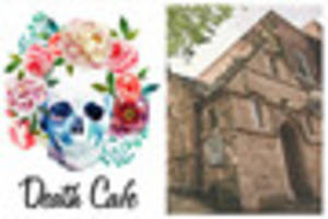 relax, grab a coffee and talk about the end at city's death cafes