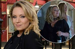 eastenders star rita simons says she's going to make a big splash in hollywood after leaving hit show