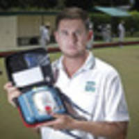 all whites legend adrian elrick revivied on the bowls green