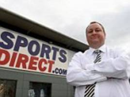 the daily briefing: sports direct tries to become the 'selfridges of sports'