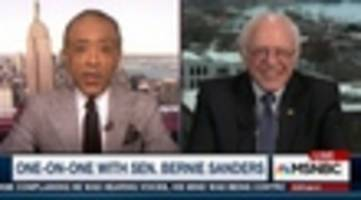 Bernie Sanders On MSNBC: We Have To 'Create A Damn Government That Represents All Of Us'