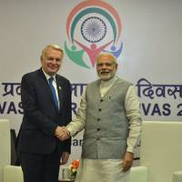 PM Modi, French Foreign Minister discuss defence, terrorism
