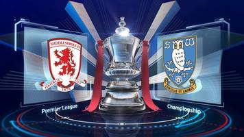 fa cup: middlesbrough 3-0 sheffield wednesday highlights