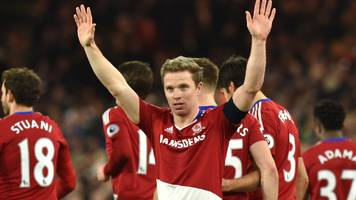 middlesbrough too strong for sheff wed