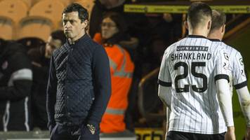 jack ross at ease speaking to buddies fans as st mirren struggle