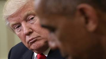 obama says he told trump to trust intelligence agencies