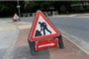 motorists: take note of this week's planned roadworks