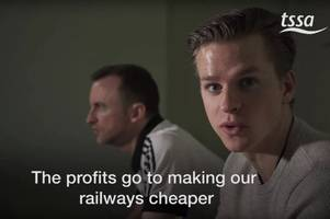 thank you scotland: video shows how we're being taken for mugs as our rail system is used to subsidise cheap fares for europe