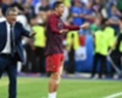 ronaldo 'like a 12th player' during euro 2016 final – portugal boss santos