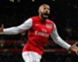 henry reveals surprising choice as his favourite goal for arsenal