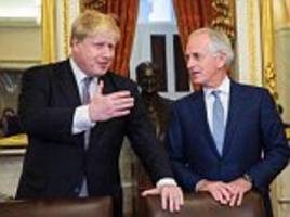 Boris Johnson hails 'exciting' year after talks with Trump's team