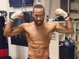 James DeGale shows off his physique during final Miami training session as he gears up for title fight with Badou Jack: 'The bigger it is, the better I fight'