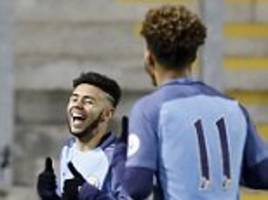 Manchester United U23 1-3 Manchester City U23: Paolo Fernandes wraps up victory for visitors against 10-man neighbours