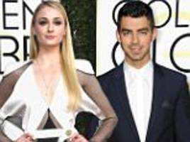 Joe Jonas and Sophie Turner 'make out' at Golden Globes after party