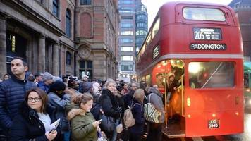 london tube strike over ticket office closures disrupts commuters