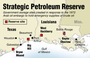 US To Sell 8 Million Barrels Of Oil From The Strategic Petroleum Reserve
