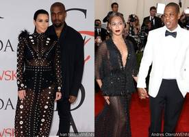KimYe Abandons Kids at Home While Attending Beyonce and Jay-Z's Daughter Birthday Party