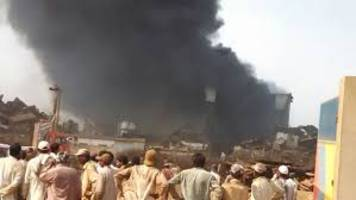 Pakistan: 5 killed as ship catches fire at ship-breaking yard in Balochistan